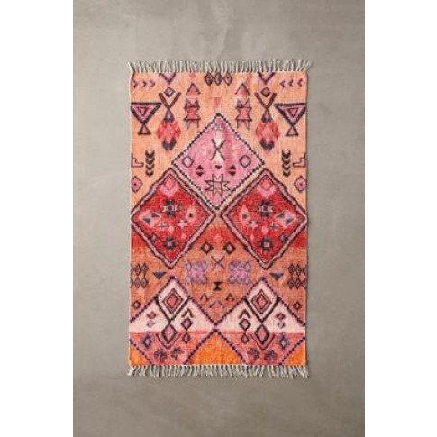 Pink Chenille 3x5 Rug - Pink All At Urban Outfitters