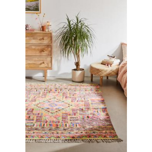 Carmita Printed Chenille 5x7 Rug - Assorted All At U...