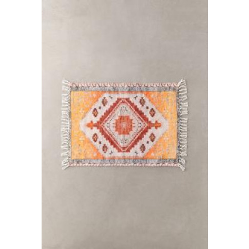 Aries Printed Chenille 2x3 Rug - Yellow At Urban Out...