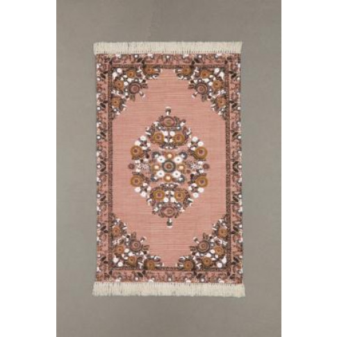 Stina Floral 3x5 Rug - Pink All At Urban Outfitters
