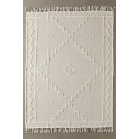 Thea Hilo Tufted 5x7 Rug - Beige All At Urban Outfitters