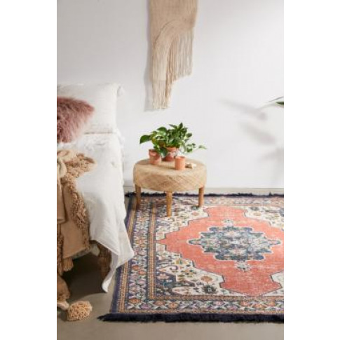 Sofia Red Printed 5x7 Rug - Red All At Urban Outfitters