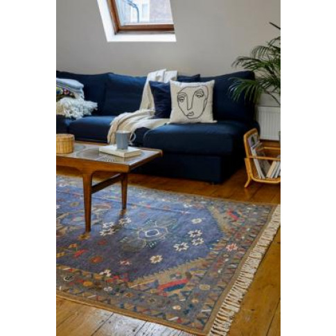 Dakota 5x7 Printed Rug - Red All At Urban Outfitters