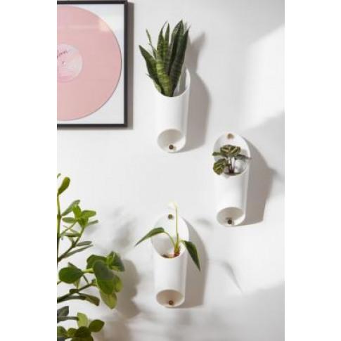 Umbra Floralink Hanging Planter - White All At Urban...