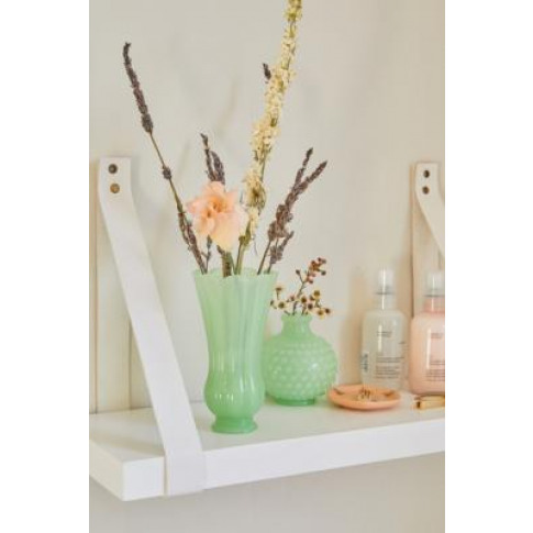 Tulip Textured Vase - Mint All At Urban Outfitters