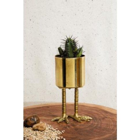 Gold Mini Birdie Planter - Gold All At Urban Outfitters