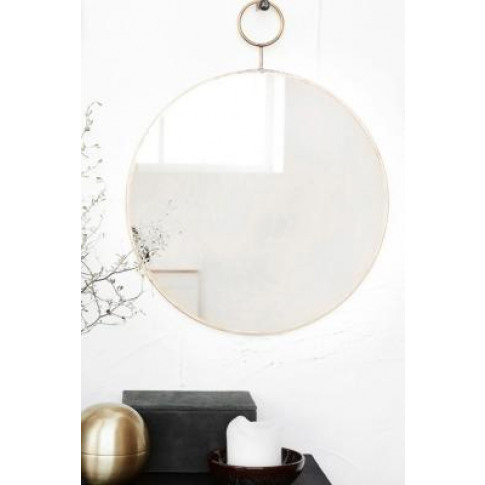 Round Loop Brass Mirror - Assorted All At Urban Outf...