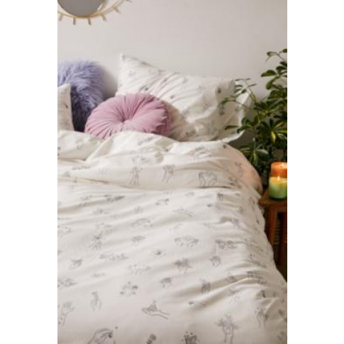 Cosmic Hands Duvet Cover Set - White King At Urban O...