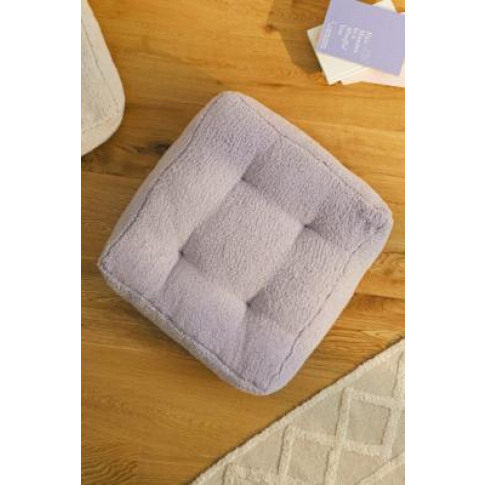Sherpa Floor Cushion - Purple At Urban Outfitters