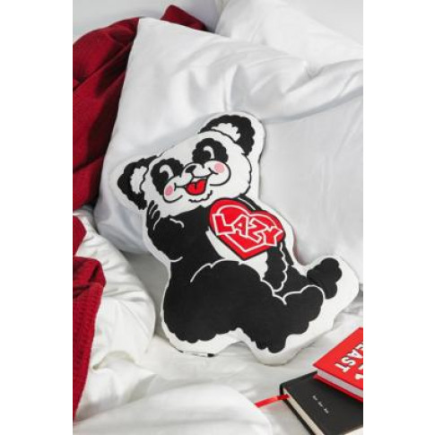 Lazy Oaf Happy Panda Cushion - Assorted All At Urban...