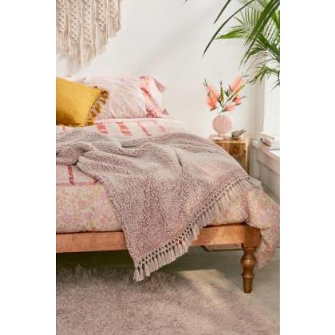 Amped Fleece Pink Marl Throw Blanket - Pink At Urban...