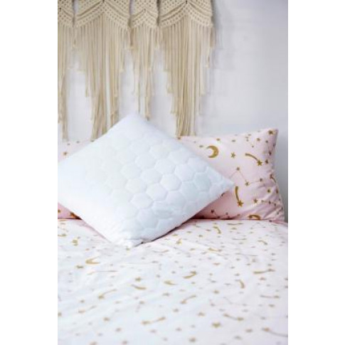 Honeycomb Throw Cushion - White At Urban Outfitters