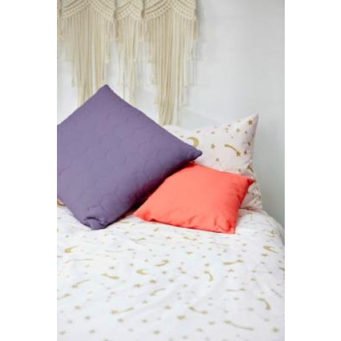 Honeycomb Throw Cushion - Purple At Urban Outfitters