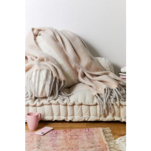 Grey Cosy Throw Blanket - Assorted All At Urban Outf...