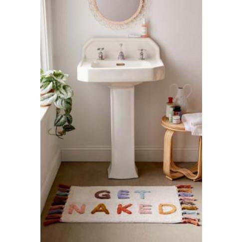 Multi-Colour Get Naked Tassel Bath Mat - Assorted Al...
