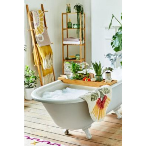 Idalie Floral Bath Mat - Assorted All At Urban Outfi...