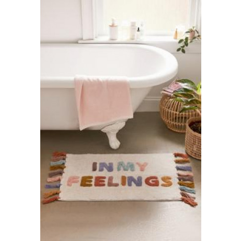 In My Feelings Bath Mat - Assorted All At Urban Outfitters