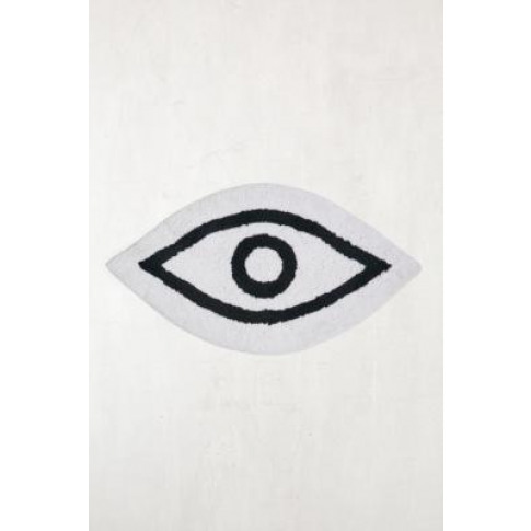 Eye Shaped Bath Mat - Black All At Urban Outfitters