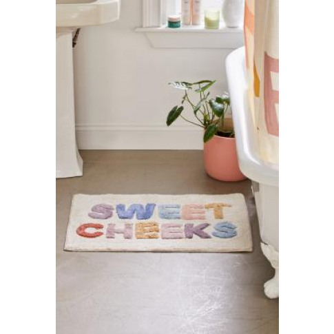Sweet Cheeks Bath Mat - Assorted All At Urban Outfitters