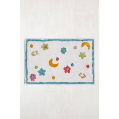 Flower Moon Bath Mat - Assorted 2 X 2 At Urban Outfi...