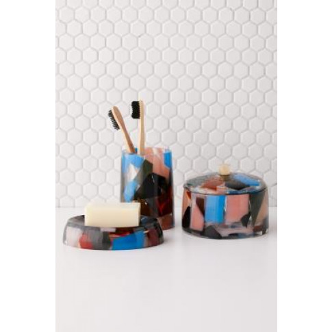 Multicolour Resin Soap Dish - Assorted All At Urban ...