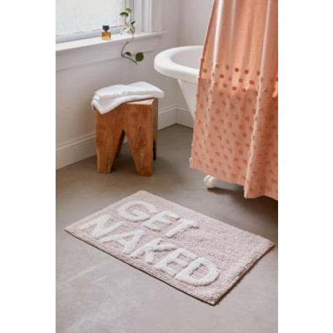 Get Naked Pink Bath Mat - Pink All At Urban Outfitters