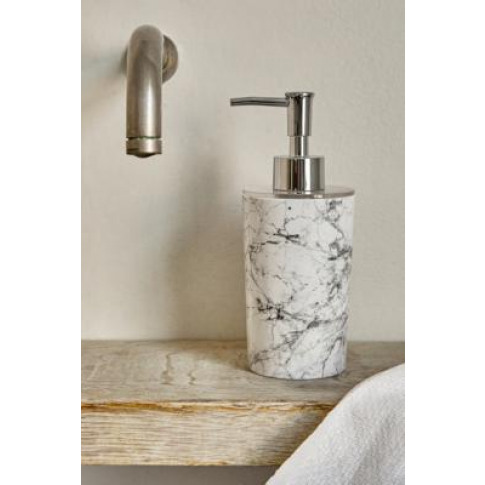 Marble Soap Dispenser - Black All At Urban Outfitters