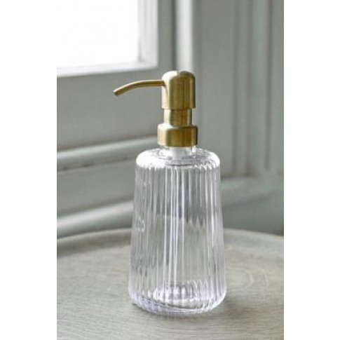 Clear Glass Soap Dispenser - Clear All At Urban Outf...