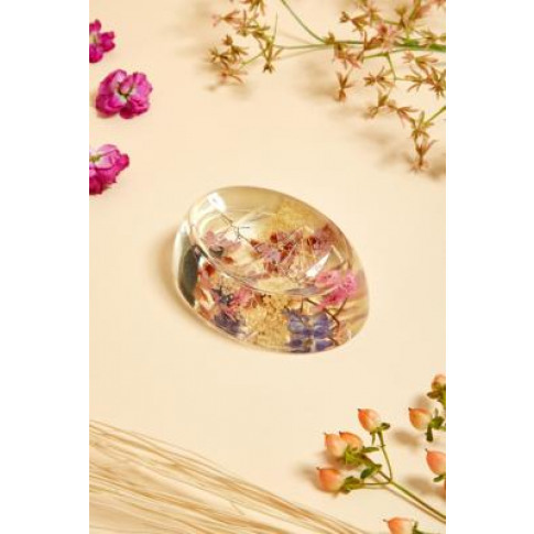 Dahlia Floral Soap Dish - Assorted All At Urban Outf...