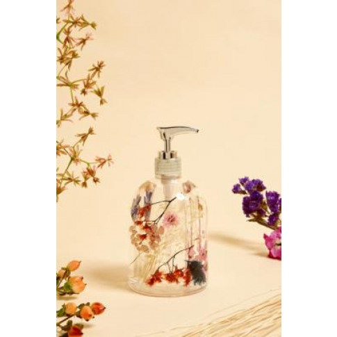 Dahlia Floral Soap Dispenser - Assorted All At Urban...