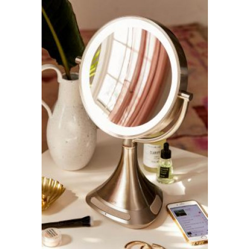 Ihome Reflect Ii Vanity Mirror Bluetooth Speaker - S...