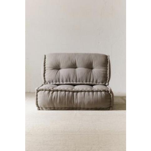Reema Grey Back Cushion - Grey All At Urban Outfitters