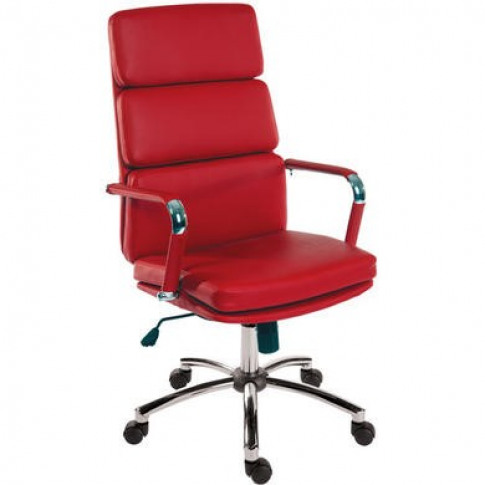 Teknik Office Deco Executive Red Office Chair