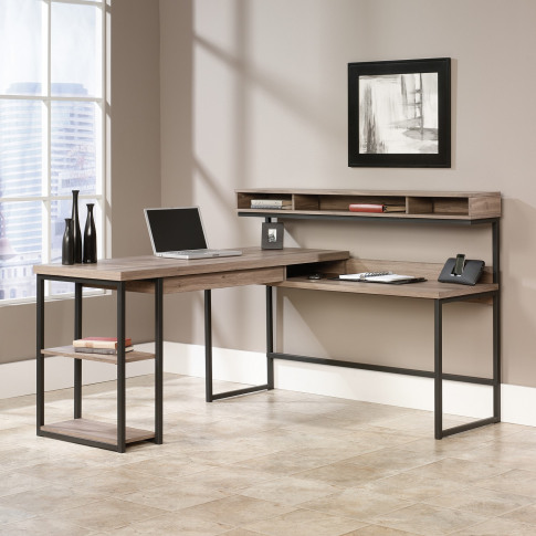 Industrial Streamline Corner Desk - Teknik Office