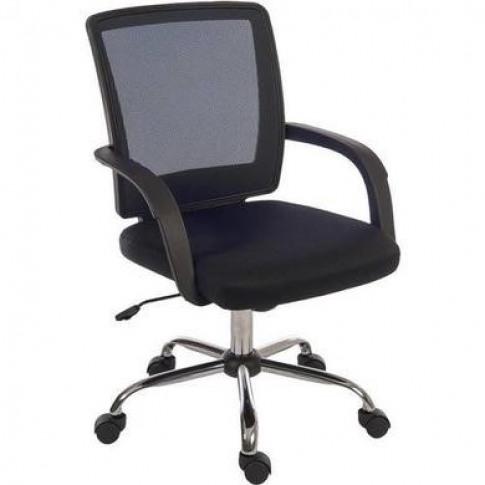Black Mesh Office Chair - Teknik Office Star