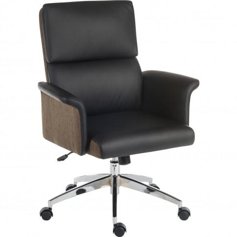 Teknik Office Elegance Black Medium Back Office Chair