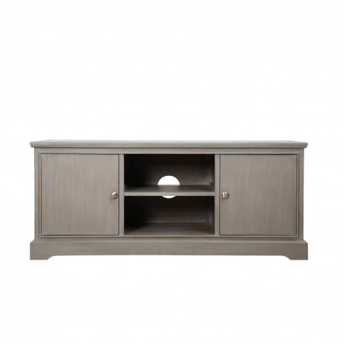 Harvey Tv Unit In Taupe - Tv's Up To 43