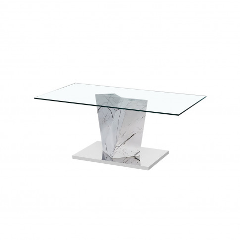 Lpd Alpha Faux Marble Coffee Table