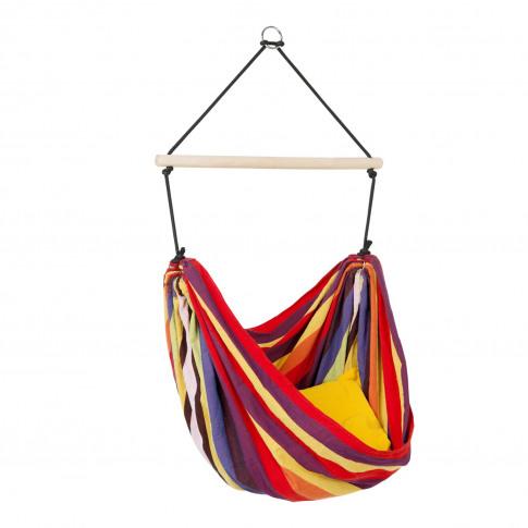 Kids Rainbow Garden Hammock - Fabric Swing Chair