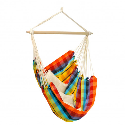 Rainbow Garden Hammock - Fabric Swing Chair