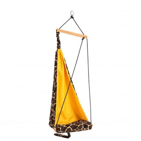 Kids Giraffe Garden Hammock - Fabric Swing Chair
