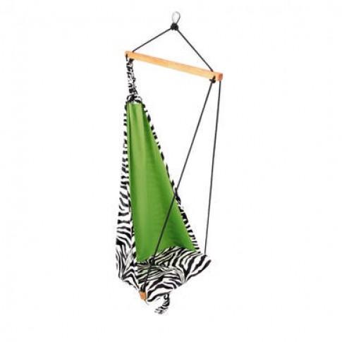 Kids Zebra Garden Hammock - Fabric Swing Chair