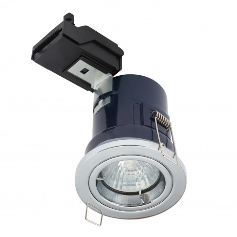 Chrome Fixed Ip44 Rated Spotlight