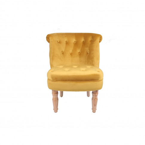 Lpd Charlotte Occassional Accent Chair In Golden Mus...