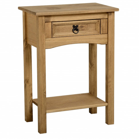Seconique Original Corona Pine 1 Drawer Console Table
