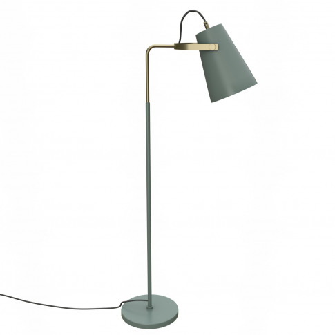 Floor Lamp In Green - Industrial - Beaumont