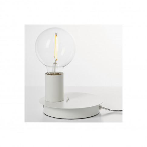 Joshua White Usb Table Lamp