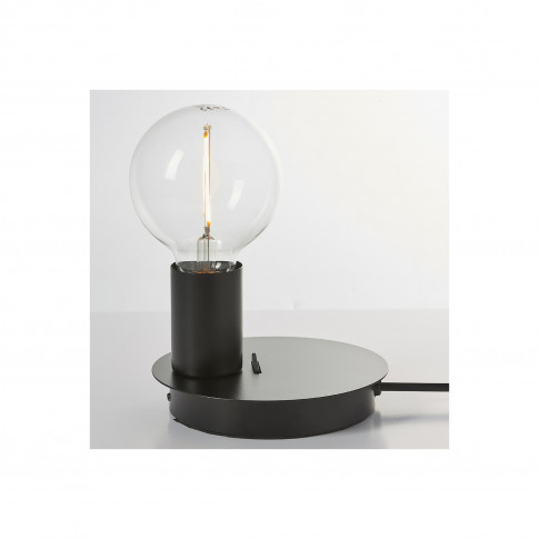 Joshua Black Usb Table Lamp