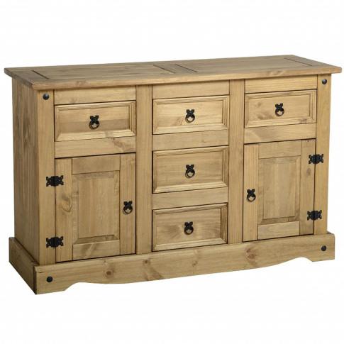 Seconique Original Corona Pine Sideboard With 2 Door...