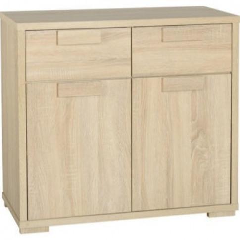 Seconique Cambourne Oak Sideboard With 2 Doors & 2 D...